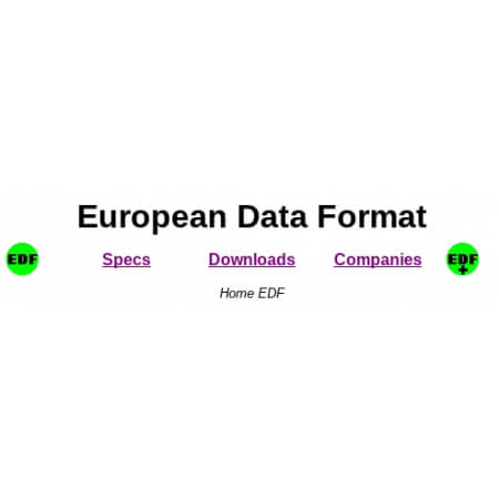EEG EDF EUROPEAN DATA FORMAT AND EDF+