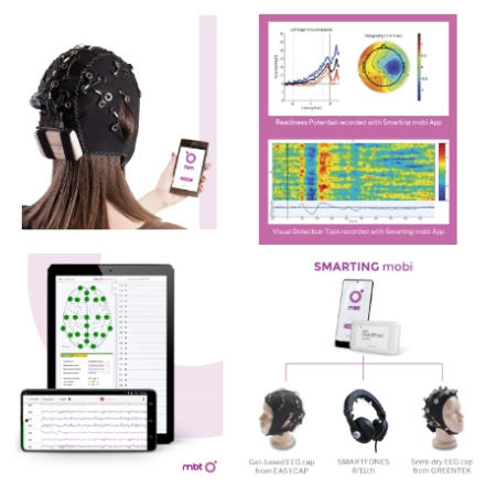 EEG Smartphone EEG DC 24 Channels for Academic Research