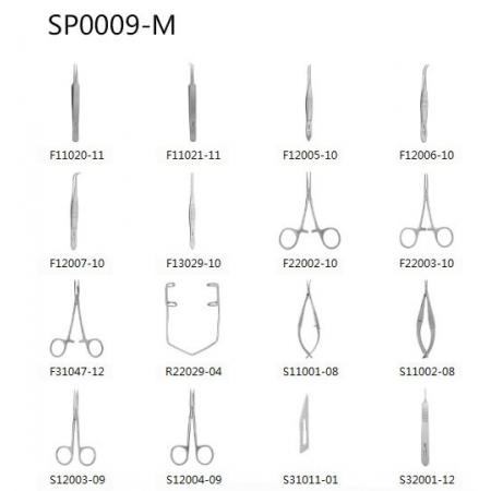 General Surgery Instrument Kit for Mouse-SP0009-M
