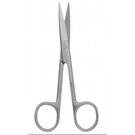 Operating Scissors (Round Type)-S/S Str/38*8.5mm/12.5cm-S14014-12