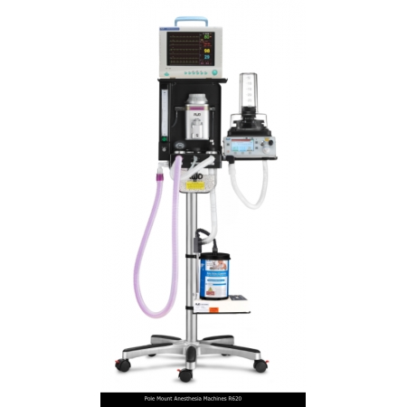 Pole Mount Anesthesia Machines R620