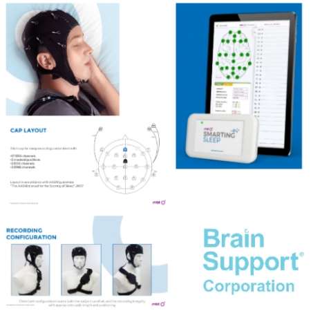 Sleep EEG Smartphone EEG DC 24 Channels for Academic Research